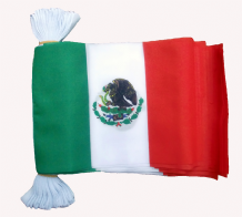 MEXICO BUNTING - 9 METRES 30 FLAGS